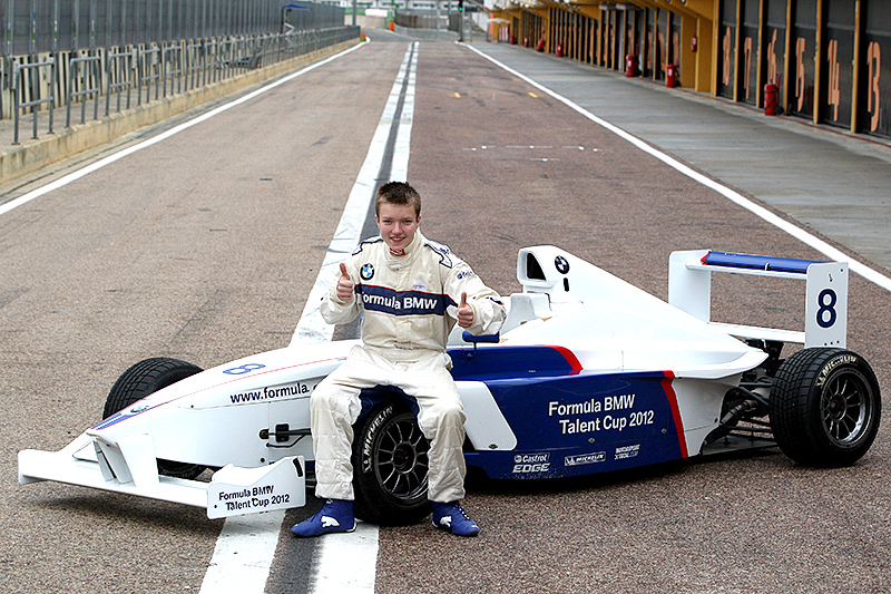 Formula BMW Talent Cup: Benjamin Mazatis glänzt beim Shoot-Out