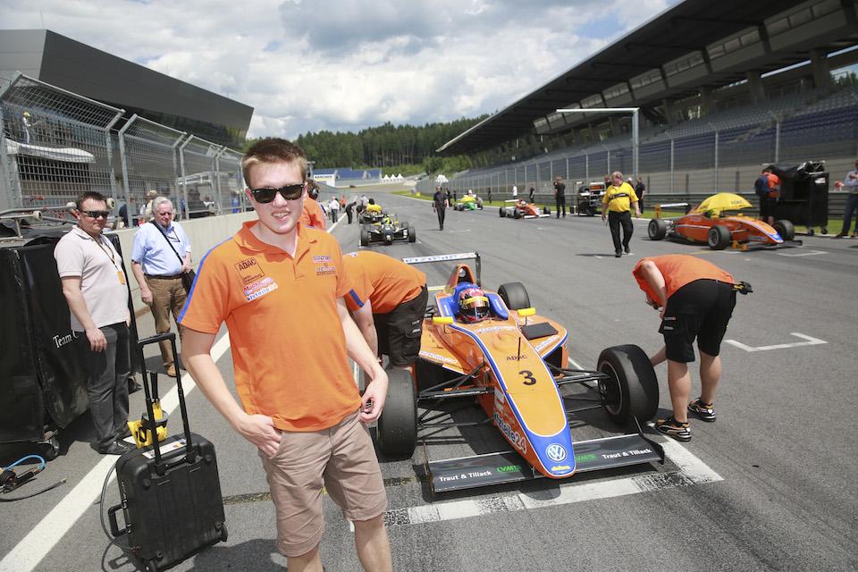Red Bull Ring: Benjamin Mazatis im Formel-1 Fieber