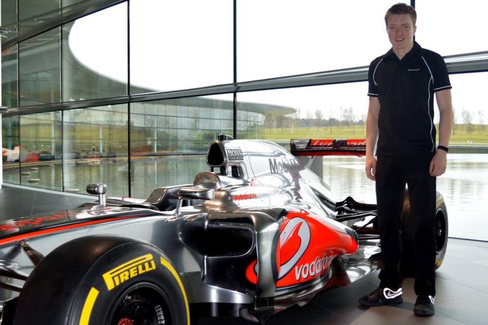 Benjamin erneut in die McLaren Performance Academy aufgenommen