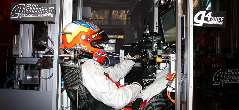 Training mit dem 'Weltmeister-Macher': Benjamin Mazatis ist fit für die ADAC Formel 4