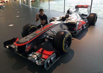 """McLaren-Auszeichnung """"Driver of Promise"""""""